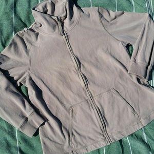 Eileen Fisher zip up sweatshirt